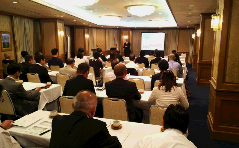 松山市中心市街地活性化協議会講演会を開催(平成29年10月12日)